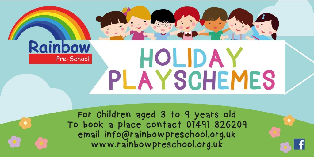Rainbow Playscheme Banner